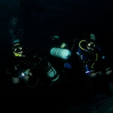 Sidemount Divers Midwater